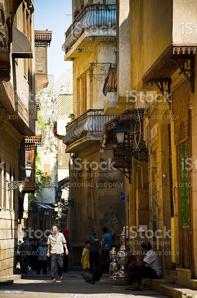 Street of the Arabian world royalty-free stock photo