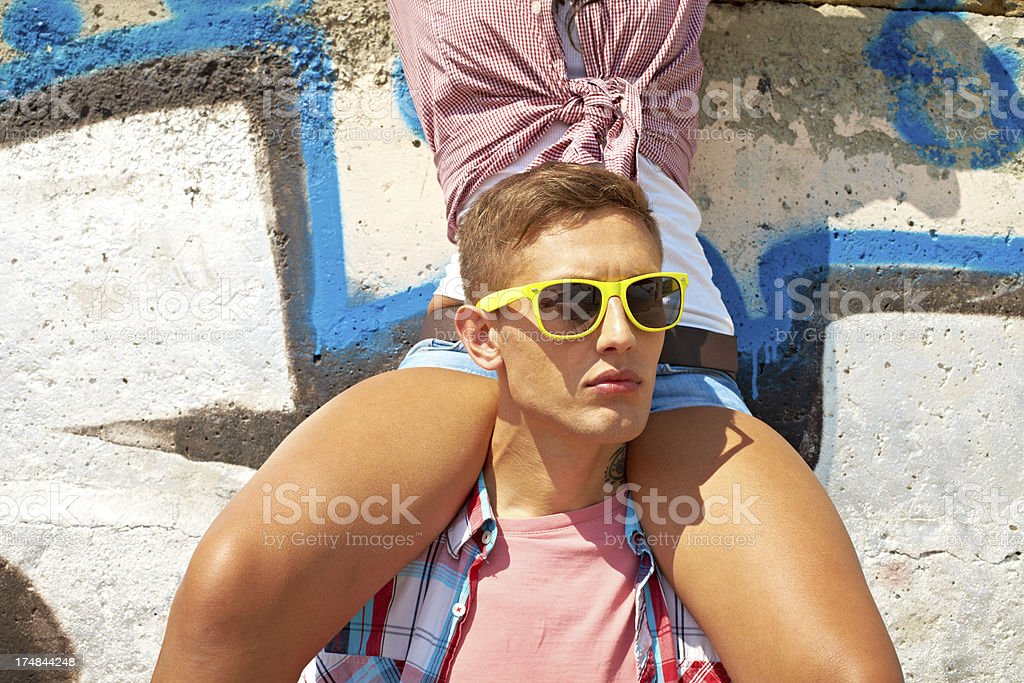 Street people royalty-free stock photo