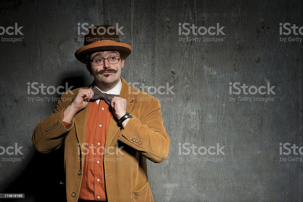 Street Performer royalty-free stock photo