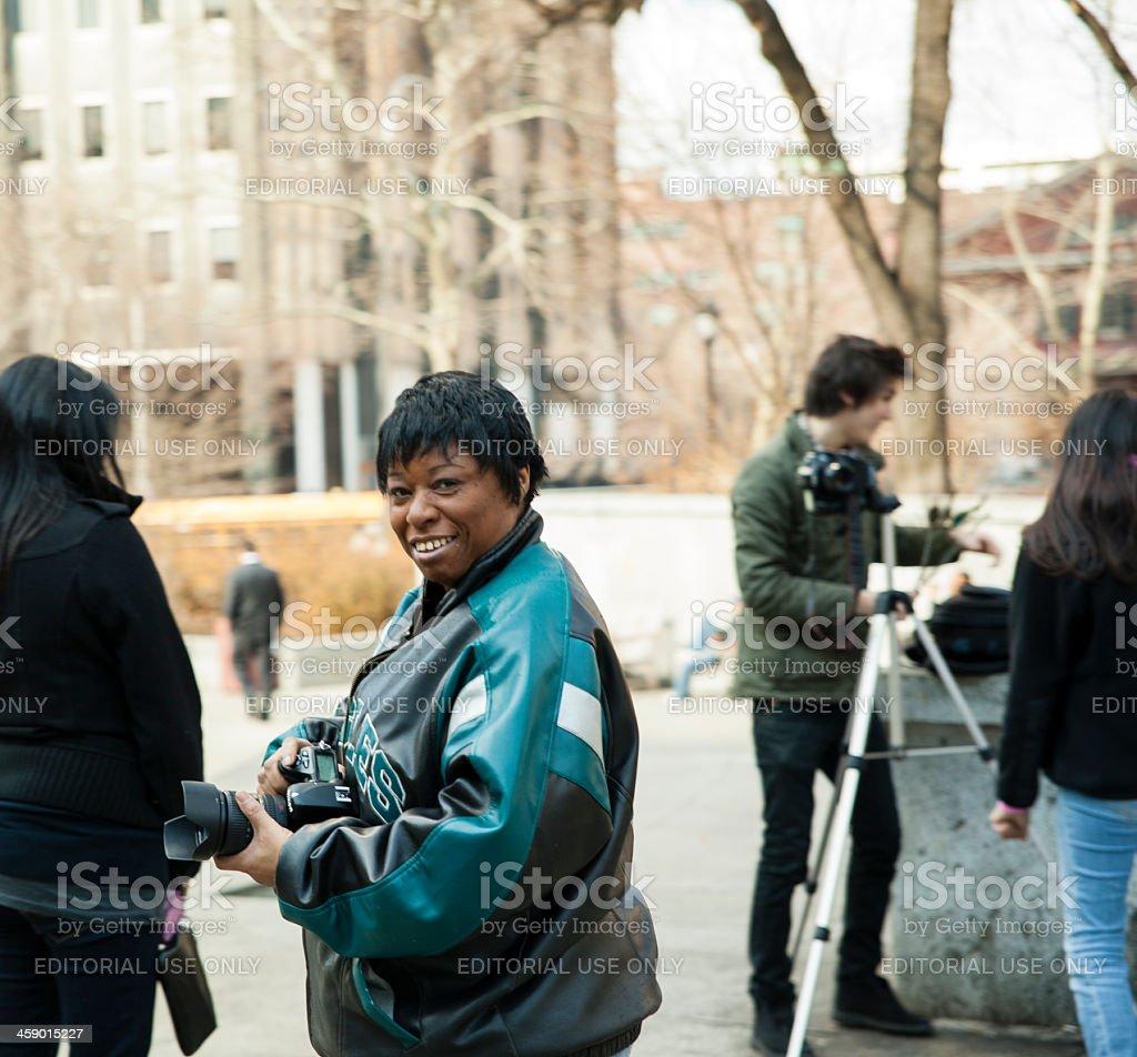 Street photo session in Philadelphia, Pennsylvania, USA royalty-free stock photo