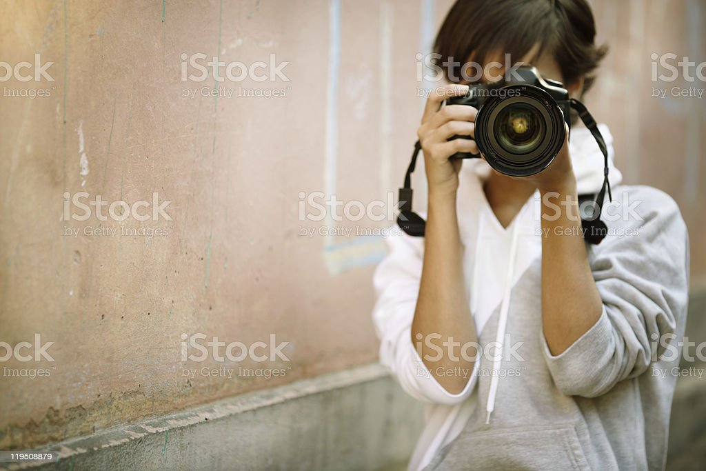 street photography stock photo