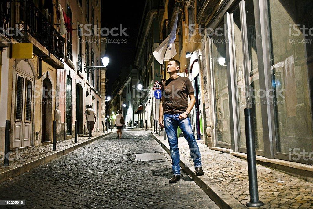street portrait stock photo