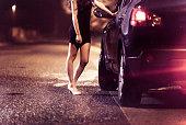 Street prostitute