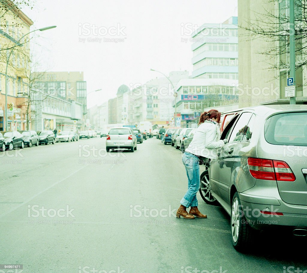 street prostitution in Berlin royalty-free stock photo
