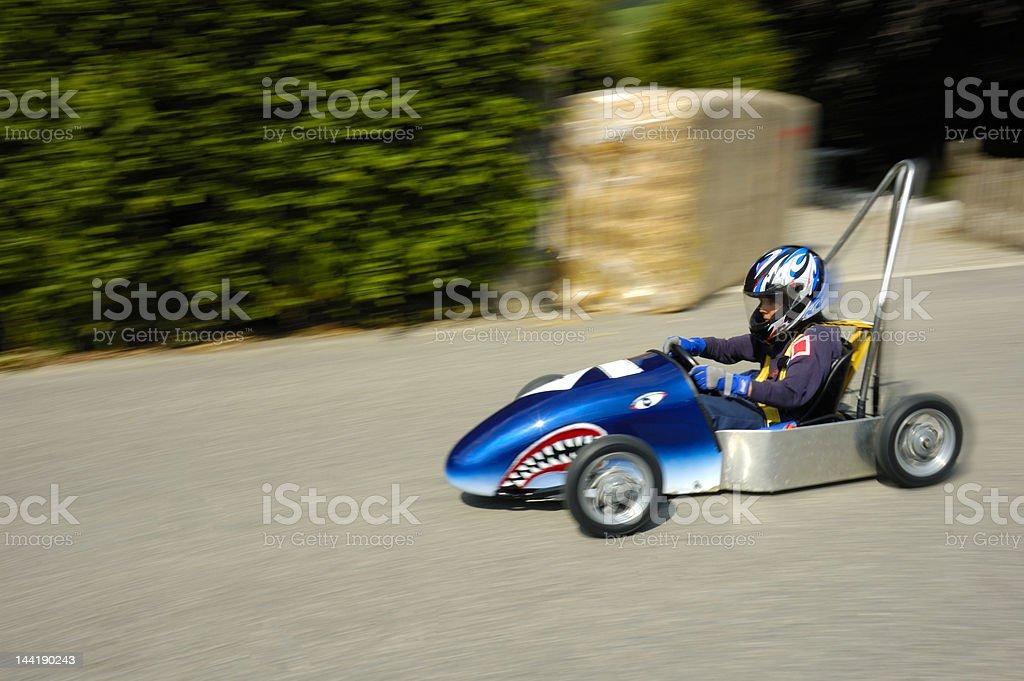 Street racer stock photo