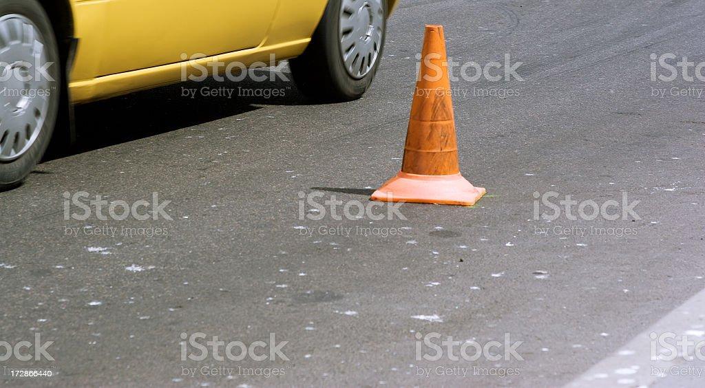 Street racing royalty-free stock photo