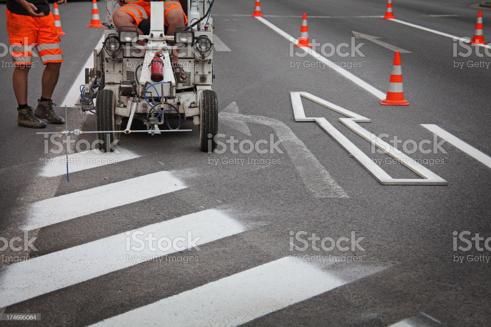 Street Repair royalty-free stock photo