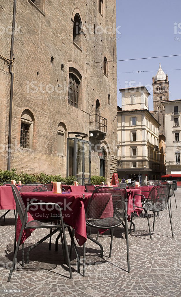 Street Restaurant royalty-free stock photo