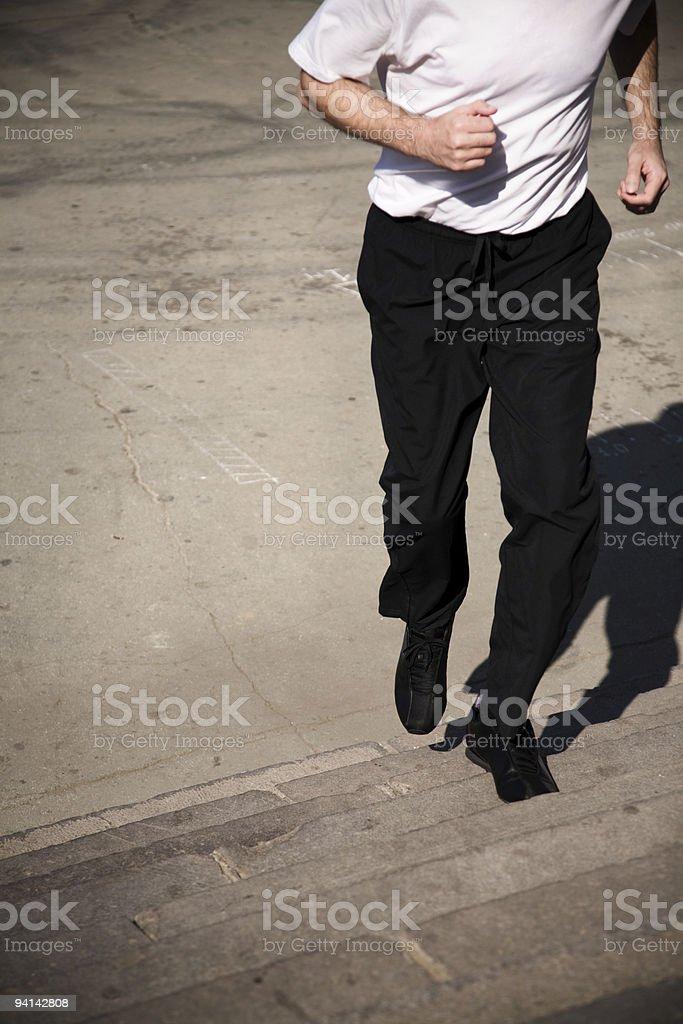 street run stock photo
