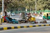 Street scene in New Delhi