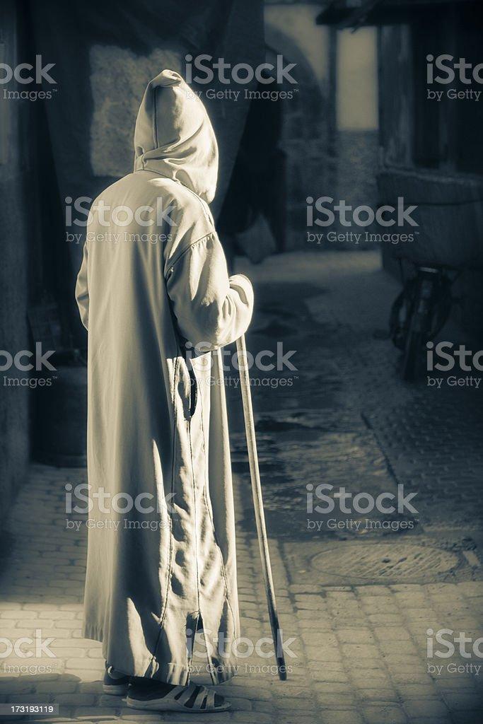 Street Scene: Morocco royalty-free stock photo