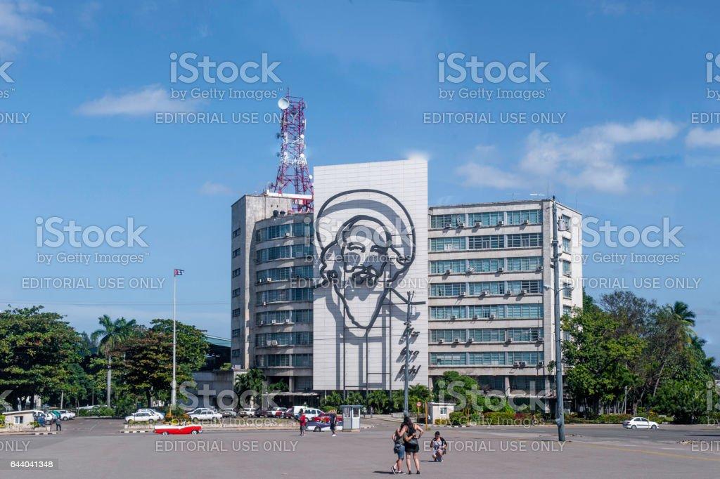 Street scene of Havana stock photo