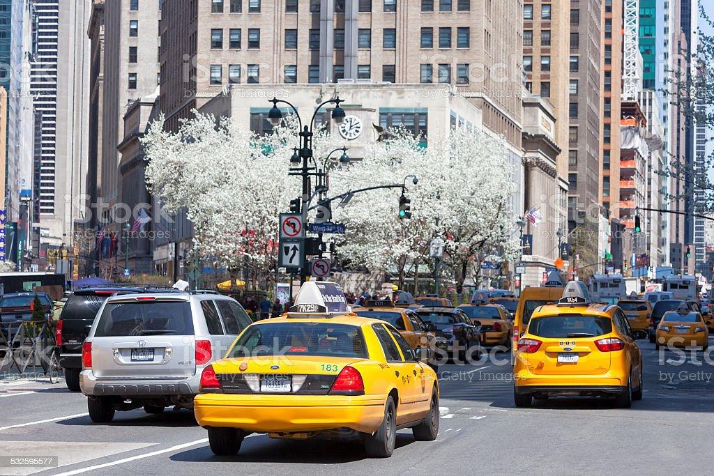 Street Scene, Manhattan, New York stock photo