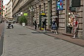 Street scenes from Budapest, Hungary