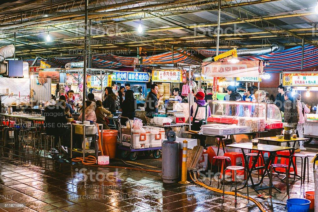 Street shop in Taipei, Taiwan stock photo