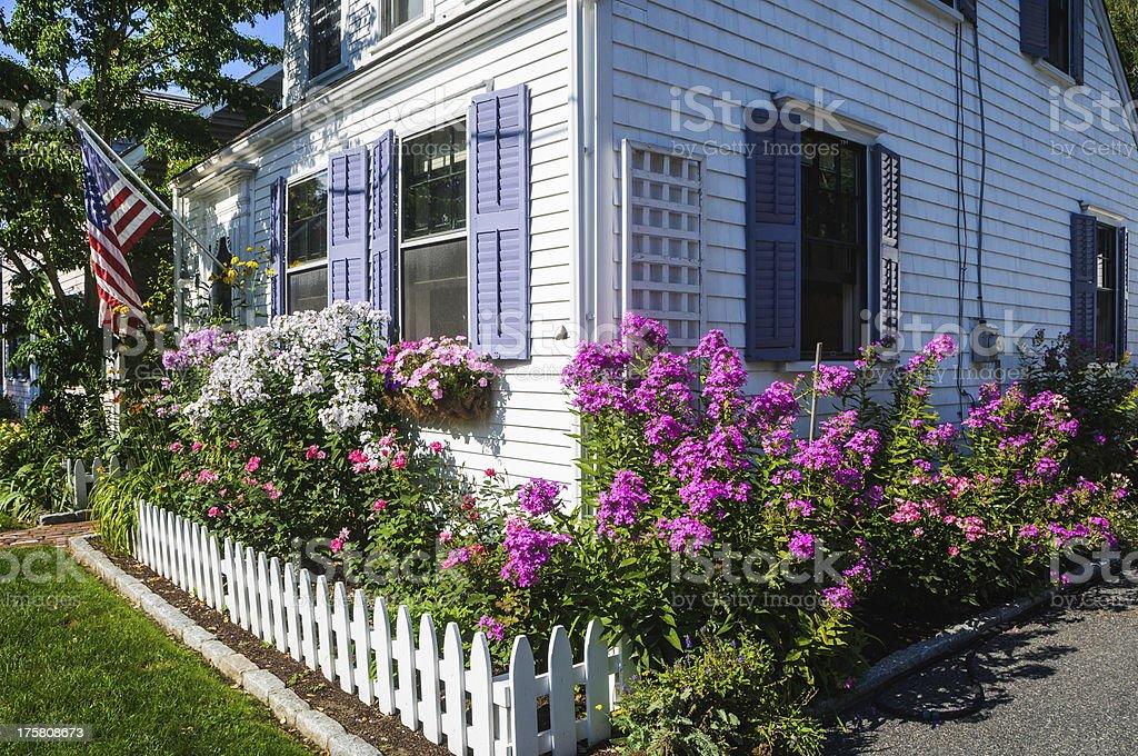 Street Side Garden stock photo