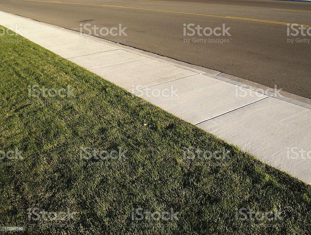 Street Sidewalk Travel royalty-free stock photo