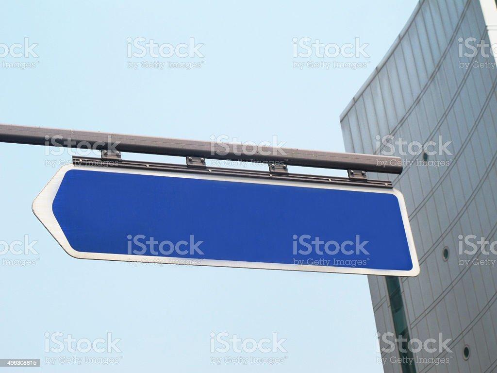 Знак улицы из большого города. Стоковые фото Стоковая фотография