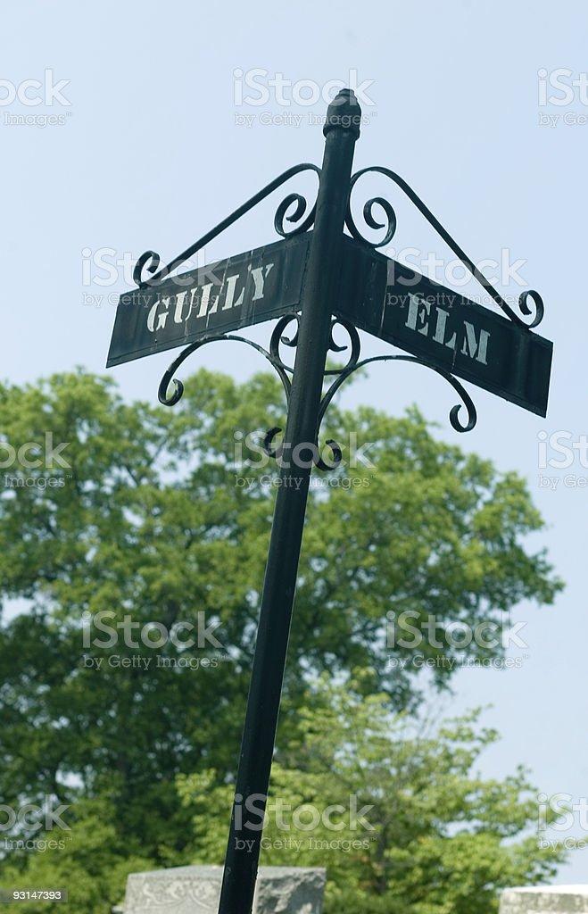 Street Sign royalty-free stock photo