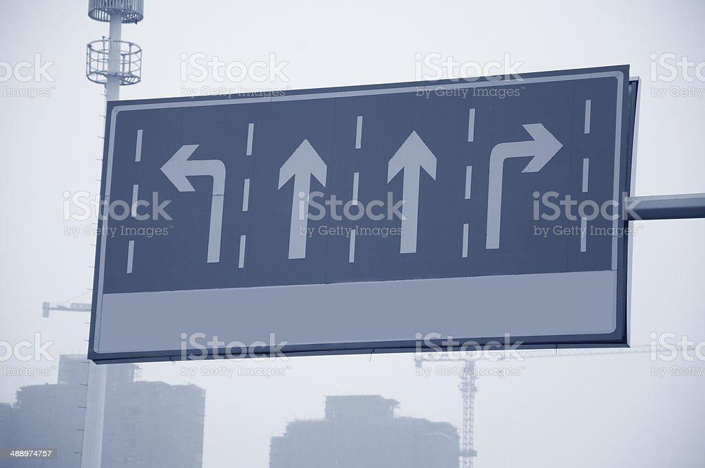 street signpost stock photo