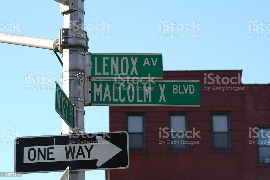 Street Signs stock photo