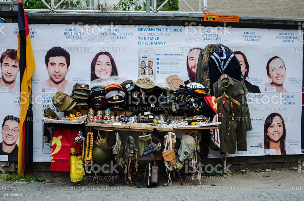 Street souvenir shop stock photo