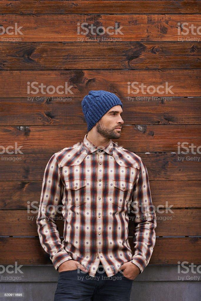 Street style stock photo
