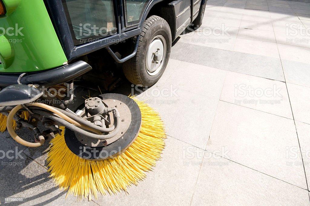Street Sweeper stock photo