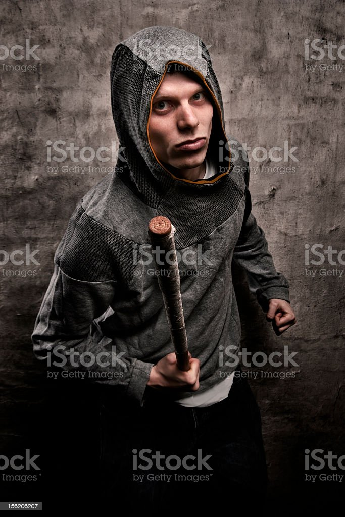 Street Thug Escrima Arnis Fighter stock photo