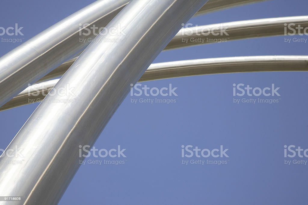 Street Urban Furniture 2 royalty-free stock photo