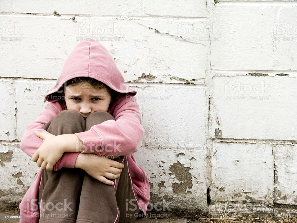 Street Urchin stock photo