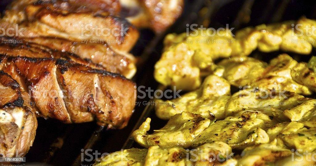 Street vendor Food in Geneva stock photo