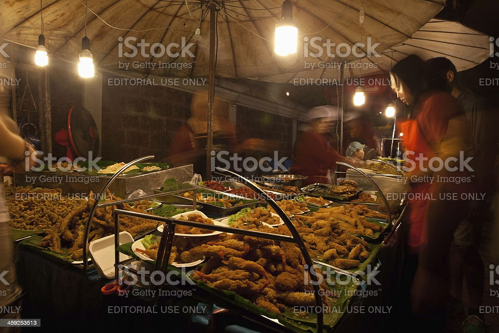 Street Vendor in Chiang Mai, Thailand royalty-free stock photo
