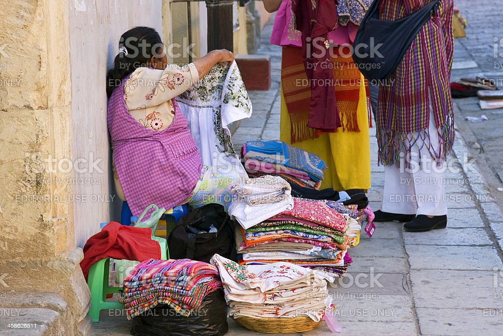 street vendor stock photo
