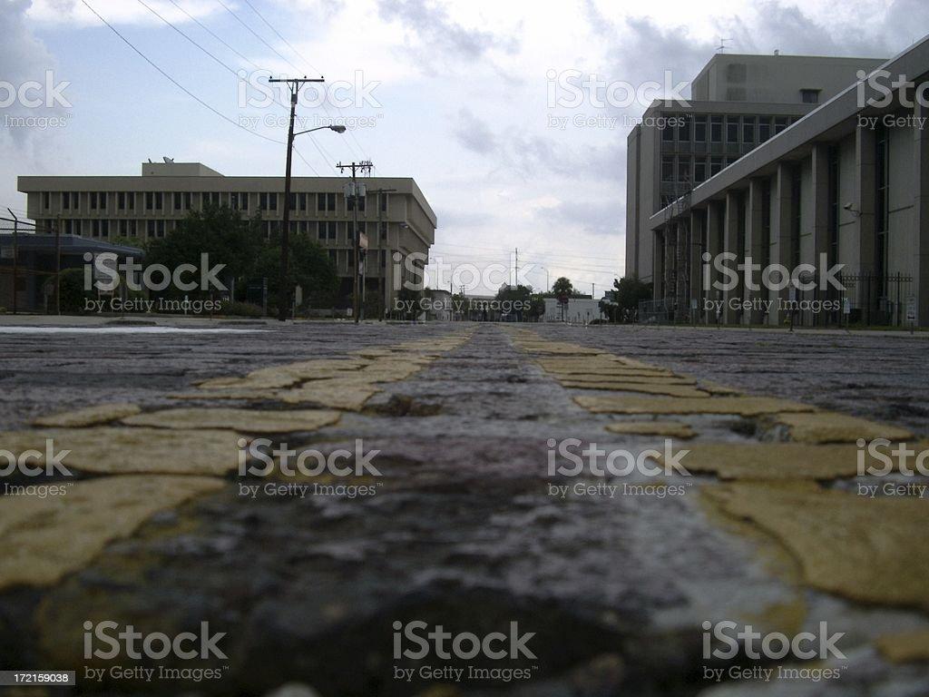 Street View royalty-free stock photo