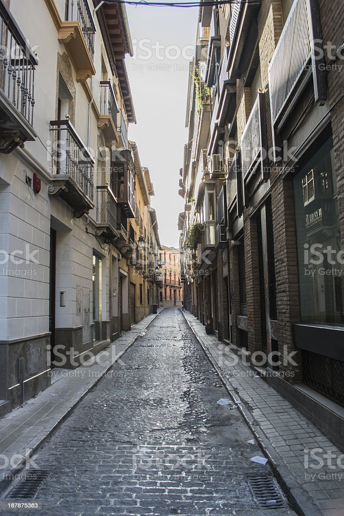 Street walk royalty-free stock photo
