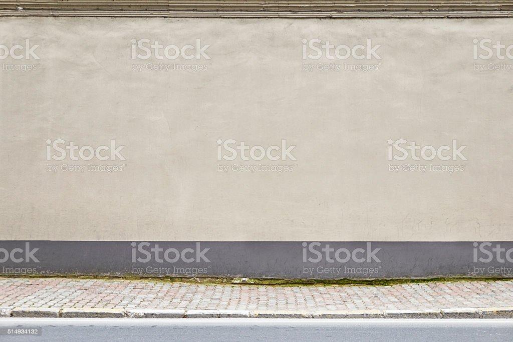 Street wall. stock photo