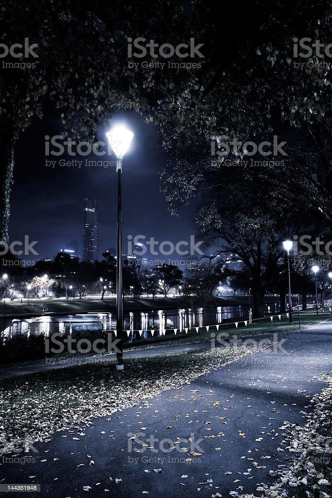 Streetlamp stock photo