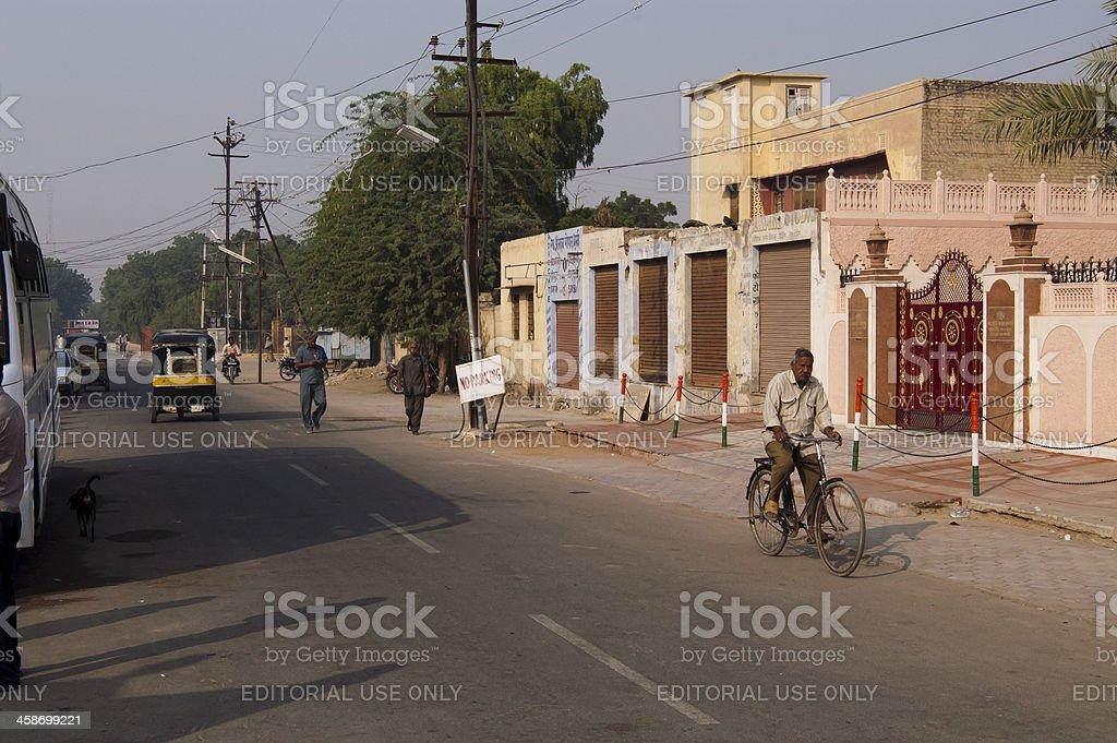 Streetlife in Bikaner royalty-free stock photo