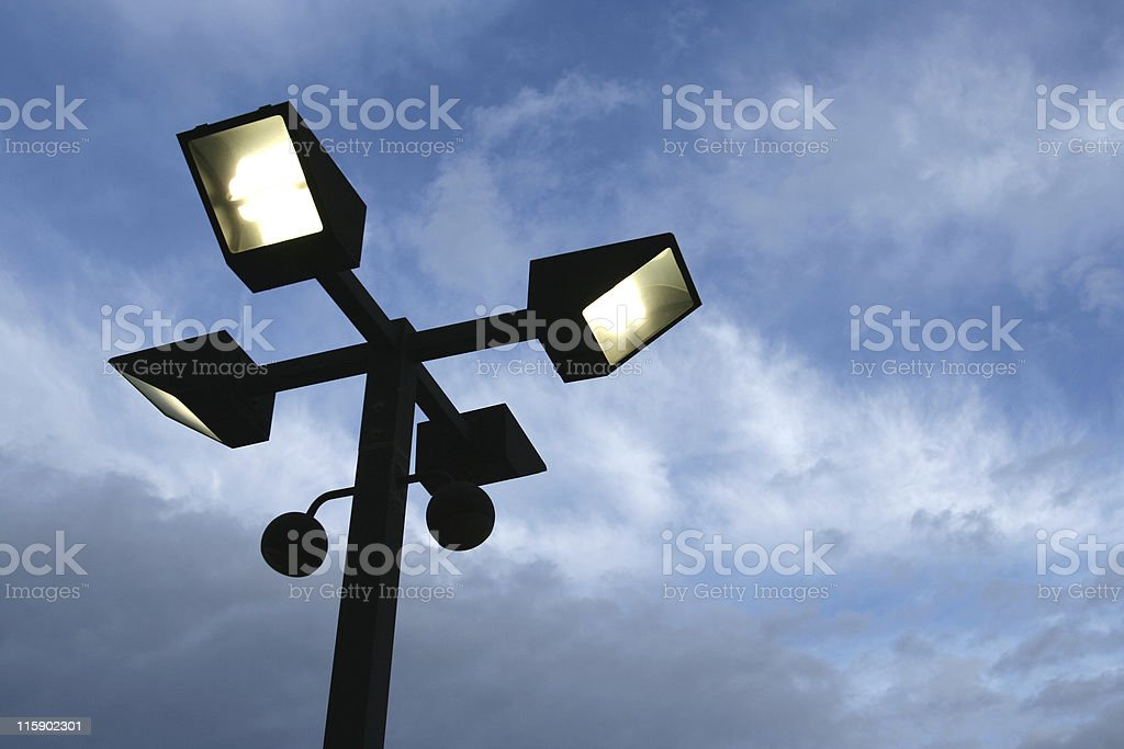 Streetlight stock photo