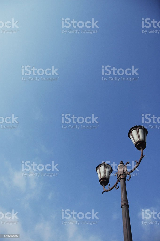 Streetlight royalty-free stock photo