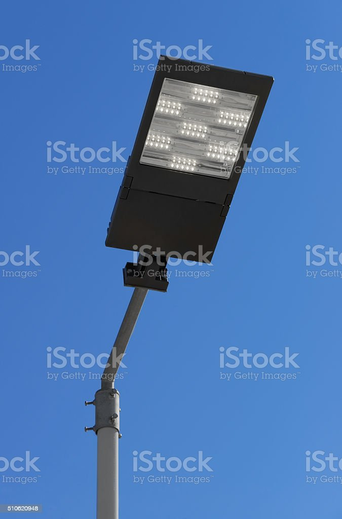 LED streetlight stock photo