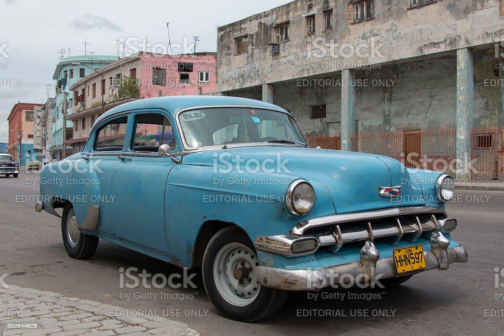 Streets of Havana stock photo