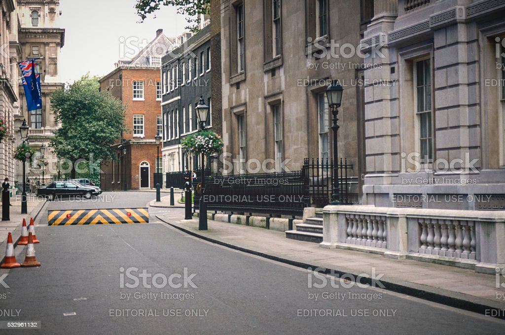 Streets of London 1994 - downing street 10 stock photo