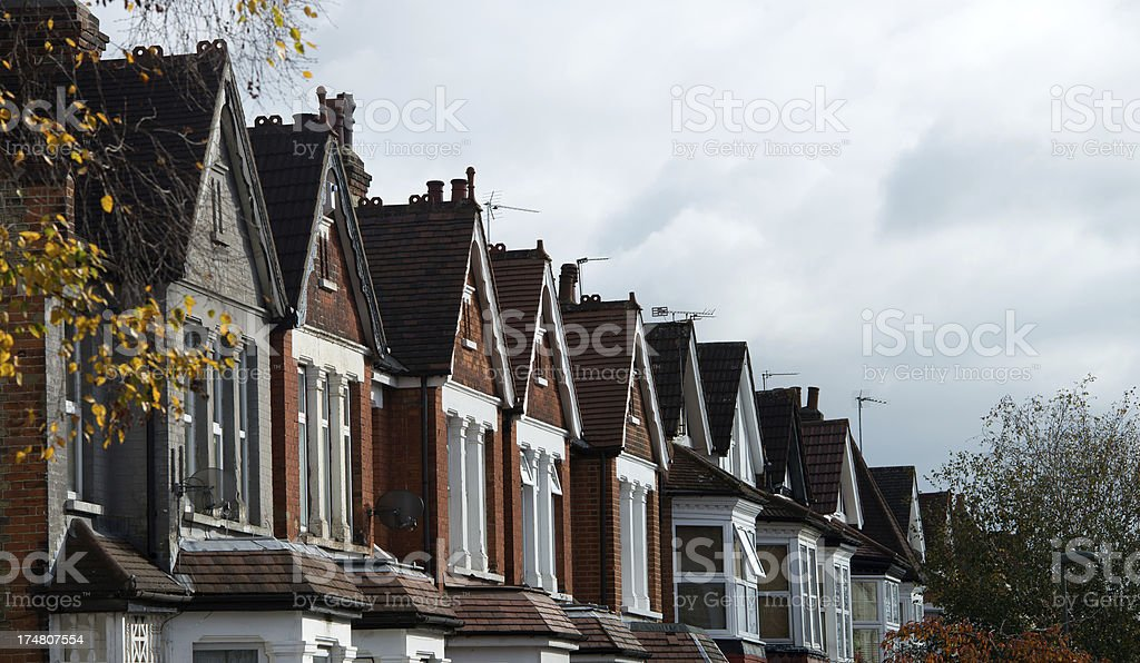Streets of London royalty-free stock photo