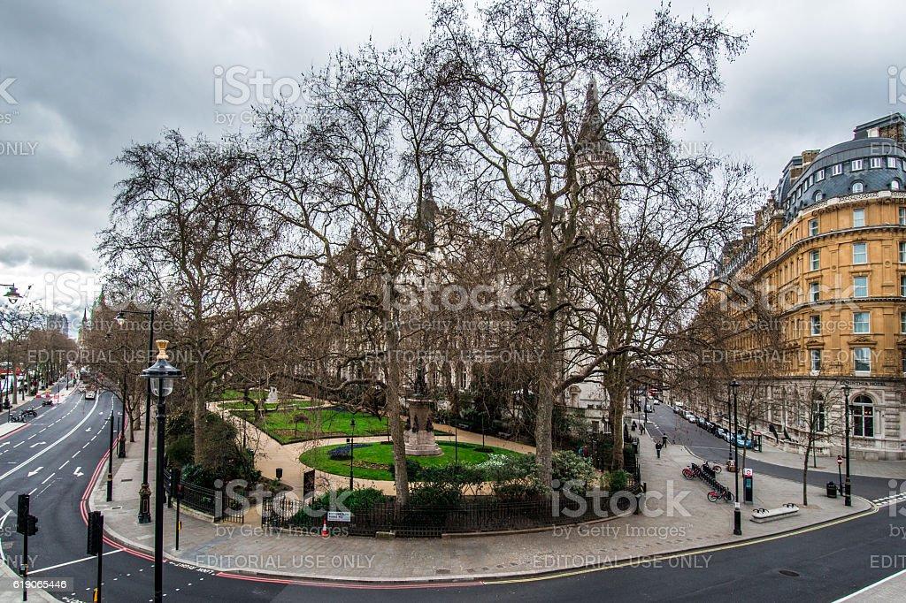 Streets of London stock photo
