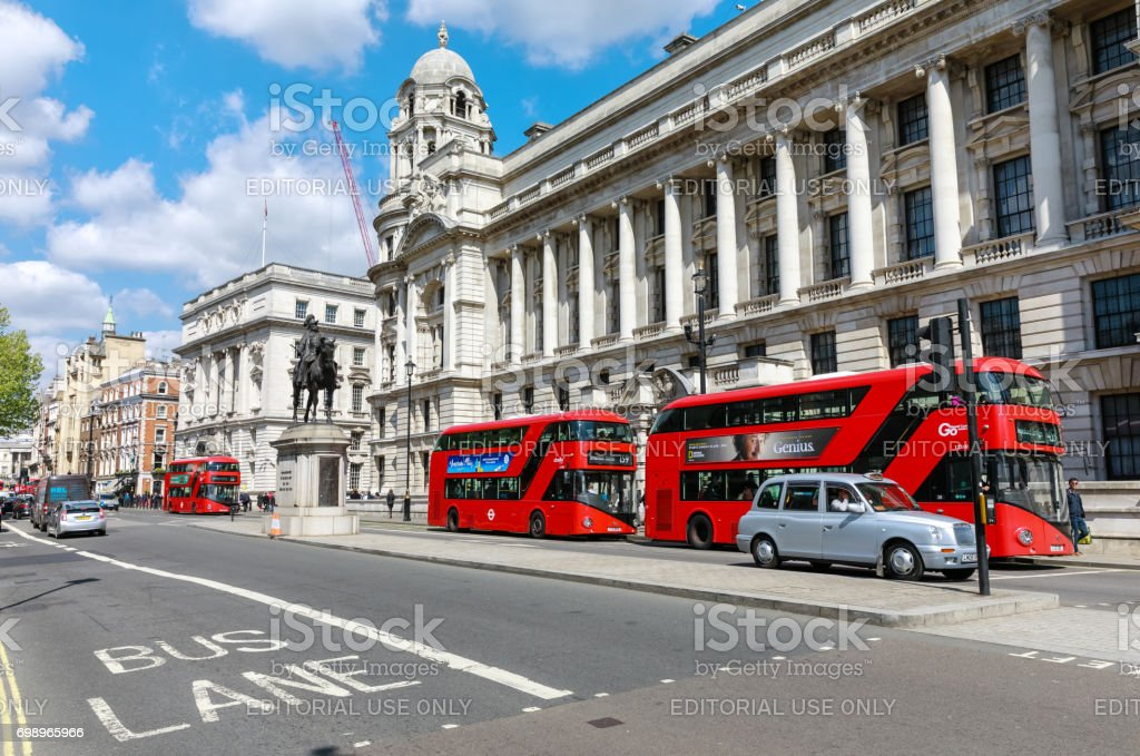 Streets of London stock photo