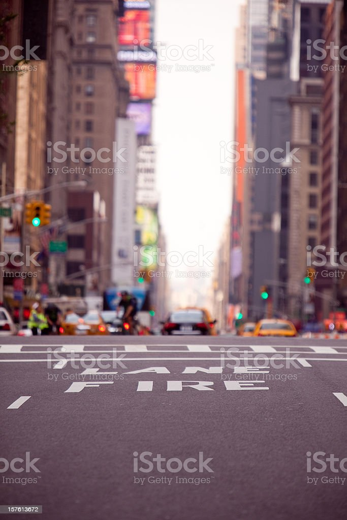 Streets of New York stock photo