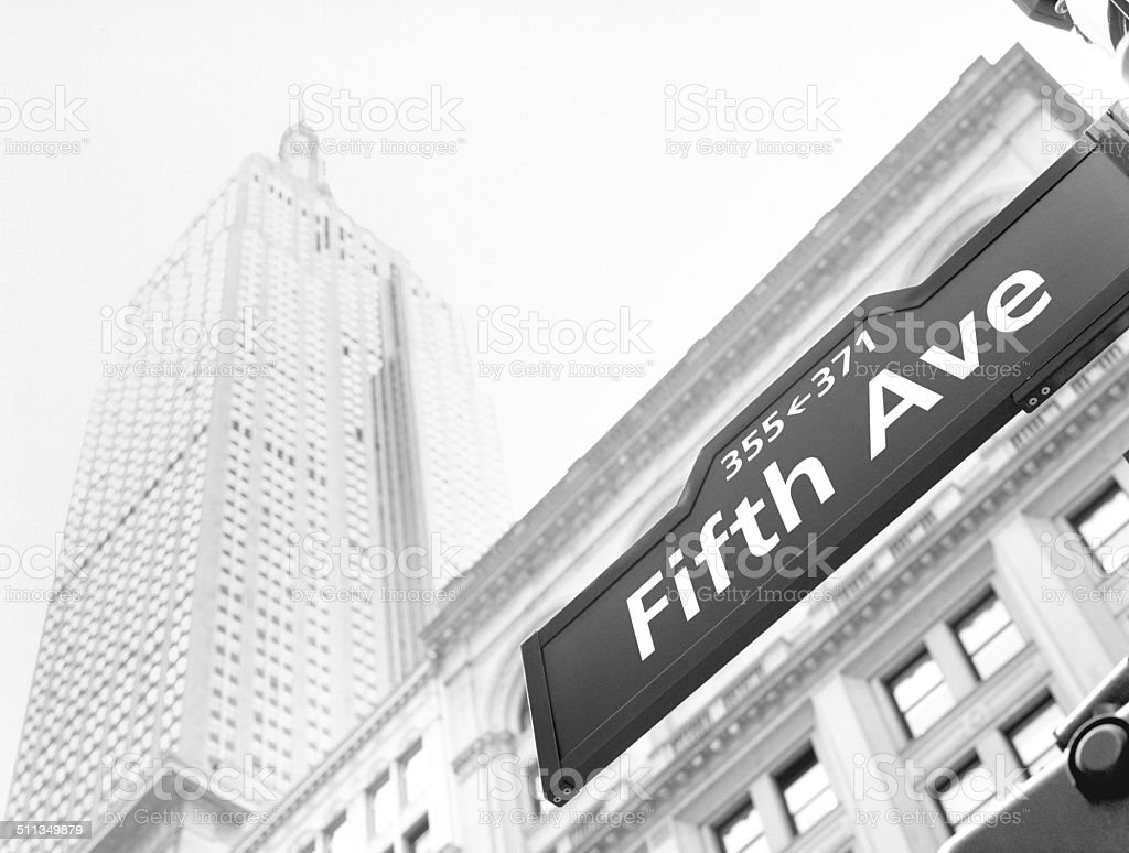Streets of NYC. stock photo
