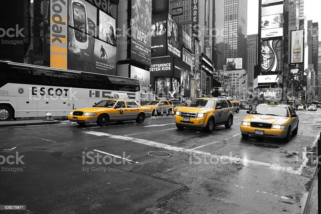 Streets of NYC stock photo